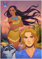 Pocahontas by daekazu