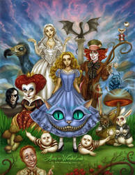 Alice in Wonderland by daekazu