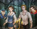 Beauty and the Beast: Twilight by daekazu
