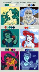 Colour Scheme Challenge by daekazu