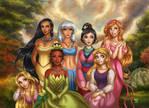 Disney's Princesses 2 by daekazu