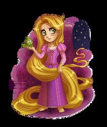 Tangled: Rapunzel by daekazu