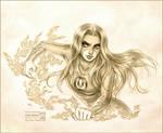 Thunder Girl by daekazu