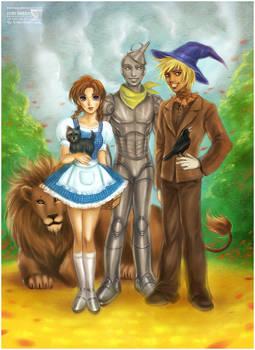 The Wonderful Wizard of Oz by daekazu