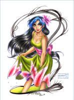Nelia Tenlion: Summer Dress by daekazu