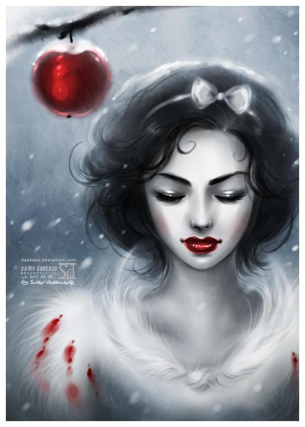 Snow Girl by daekazu