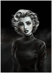 Lonely Marilyn by daekazu