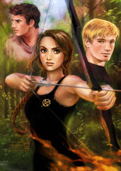 Hunger Games by daekazu
