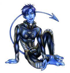 X-Men: Nightcrawler by daekazu