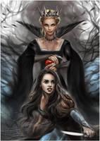 Snow White and Huntsman by daekazu