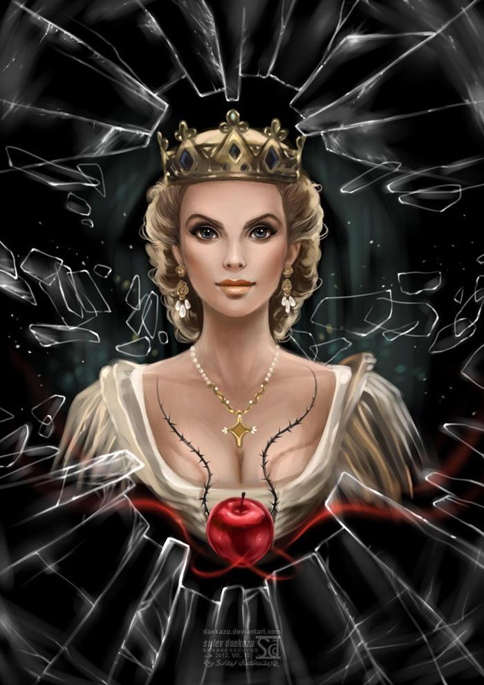 Snow White and Huntsman: Queen Ravenna by daekazu