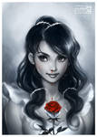 Rosy Girl by daekazu