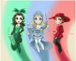 Powerpuff Witches of OZ by daekazu