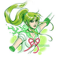 Sailor Jupiter by daekazu