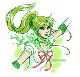 Sailor Jupiter by daekazu