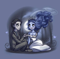 Little Corpse Bride by daekazu
