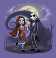 Little Nightmare Before Christamas by daekazu