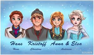 Frozen: Hans Christian Andersen by daekazu