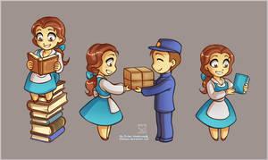 Little Belle Part3 by daekazu