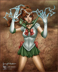 Sailor Moon: Sailor Jupiter by daekazu