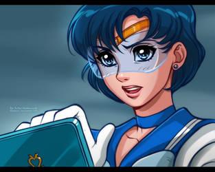 Sailor Moon: Ami by daekazu