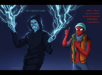 Amazing Spider-man 2 by daekazu