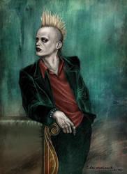 Marilyn Manson: Pogo by daekazu
