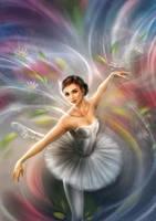 Ballerina by daekazu