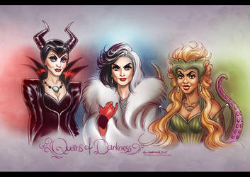 Once Upon a Time: Queens of Darkness by daekazu