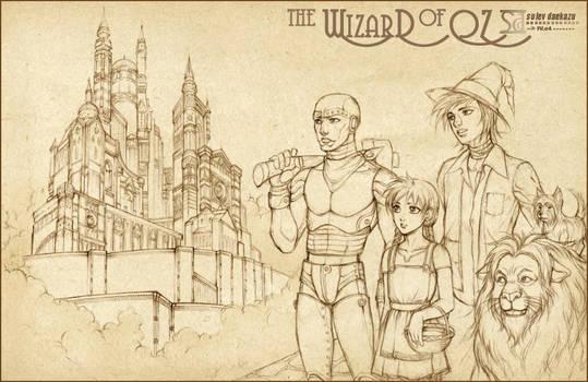 the Wizard of Oz by daekazu