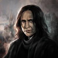 Alan Rickman: Severus Snape by daekazu