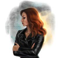 Natasha Romanoff by daekazu