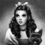 Judy Garland as Dorothy by daekazu