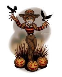 Monster Countdown: Scarecrow by daekazu