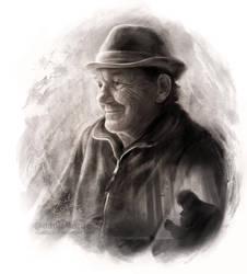 My Grandpa by daekazu