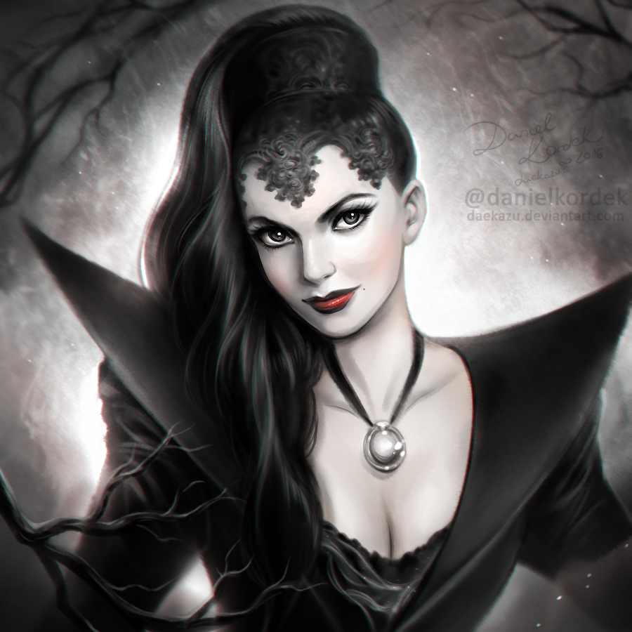 Once Upon a Time: Evil Queen by daekazu