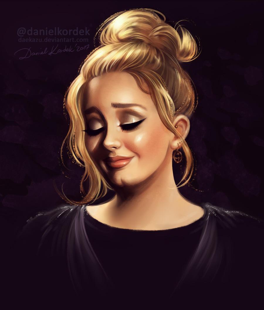 Adele: Grammys 2017 by daekazu