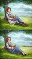 Belle from 2 Worlds by daekazu