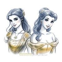Beauty vs Beauty by daekazu