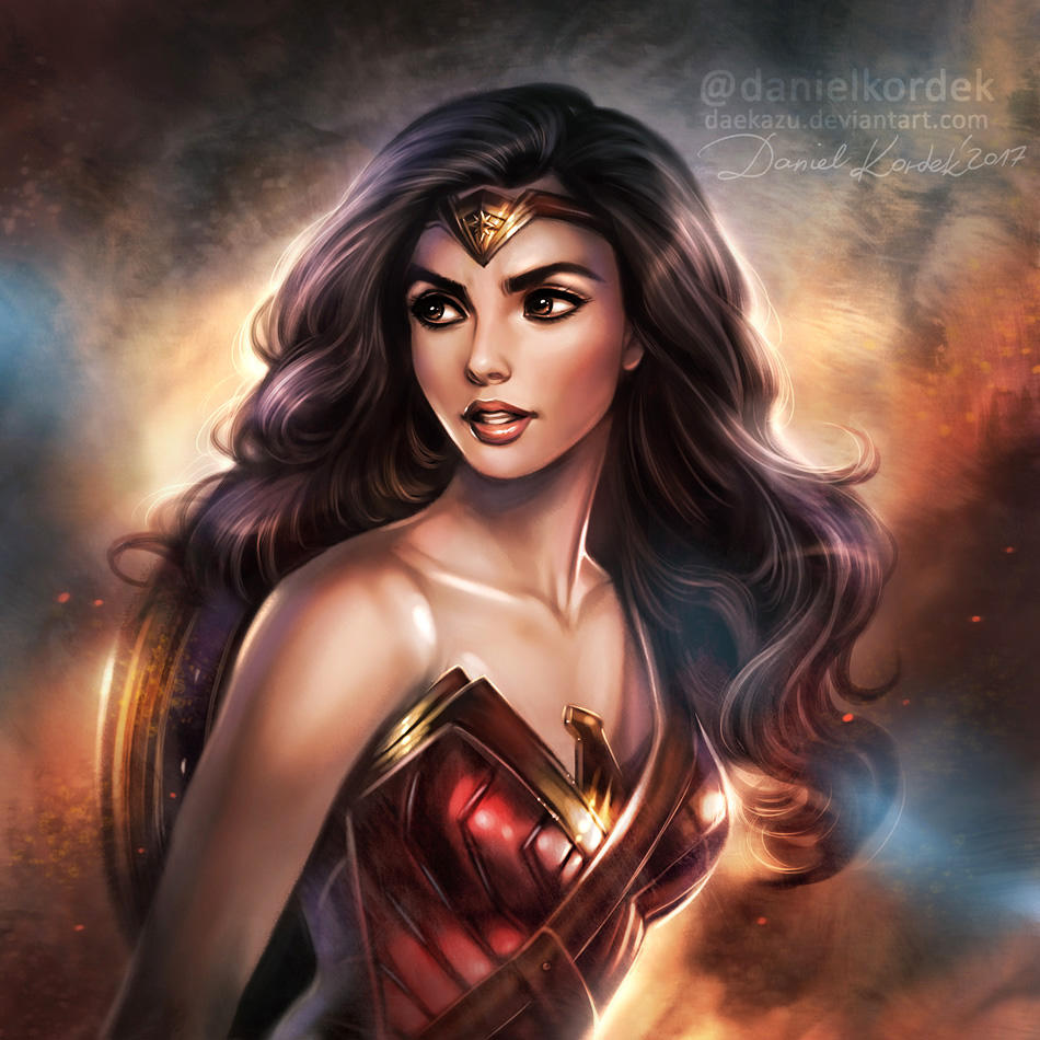 Wonder Woman: Warrior Princess by daekazu