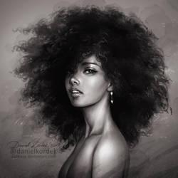 Alicia Keys by daekazu