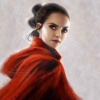 Star Wars the Last Jedi: Rey by daekazu