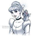 Cinderella and GodMother by daekazu