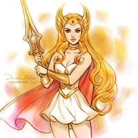 She-Ra: Princes of Power by daekazu