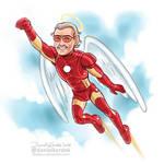 Stan Lee by daekazu