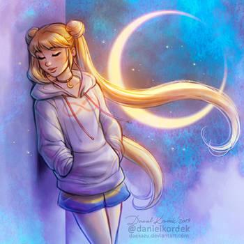 Modern Sailor Moon by daekazu