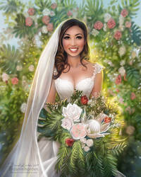 Cassey Ho: Wedding Day by daekazu