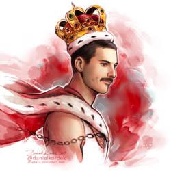 Freddie Mercury by daekazu