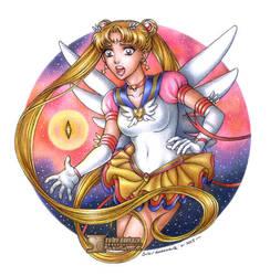 Sailor Moon Sailor Stars by daekazu