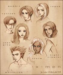 X-MEN by daekazu